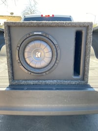 """10"""" Kicker Subwoofer ready to go"""