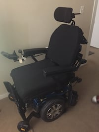 New Black motorized wheelchair Bowie, 20715