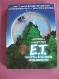 E.T. EXTRA-TERRESTRIAL 2-DISC LIMITED COLLECTOR'S EDITION Richmond