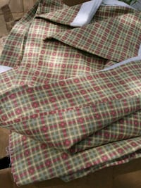 red and white plaid print textile Reno, 89512