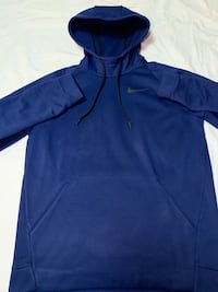 blue Nike zip-up hoodie Jersey City, 07306