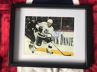 Mike Richards signed and framed photo  Châteauguay, J6K
