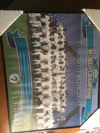 Blue jays championship poster 1992 Richmond Hill, L4C 4P7