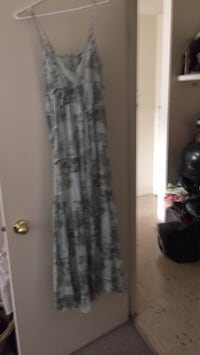 Anthropologie maxi dress, size small, worn once Calgary, T2S 0M1