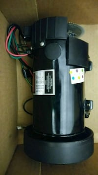 DC motor for electric car 536 km