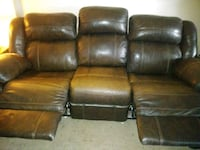 Ashley furniture leather couch Dayton, 45420