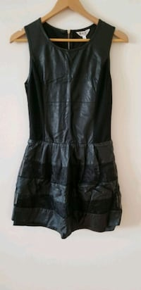 Faux leather and mesh dress small Vancouver, V6B