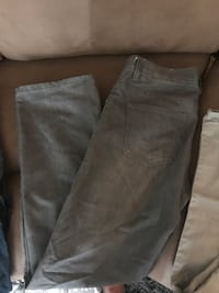 two gray and black jeans Concord, 94519
