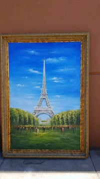 JUMBO EIFFEL TOWEL PICTURE FRAME  Maywood, 90270