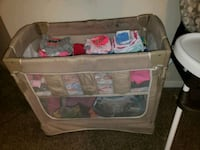 Baby portable sleeper with storage underneath  Lawrenceville, 30043