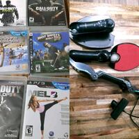 Ps3 move bundle/camera and 6 games Guelph, N1E 7K4