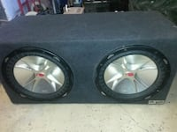 Kicker 12 inch subs with 1200w amp  2227 mi