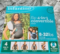 Baby convertible carrier