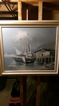 East coast canvas painting Hamilton, L8J 2C8