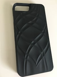 Svart iPhone-etui