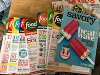 Food network magazine and 2 other magazine Fairfax, 22030