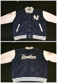 Authentic NYY Letterman's Jacket 3XL The Bronx, 10453