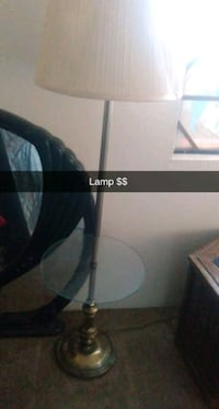 Table lamp it's works just need a lap shade