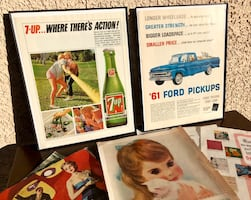Mid Century Wall Art - Vintage Ads & Artwork