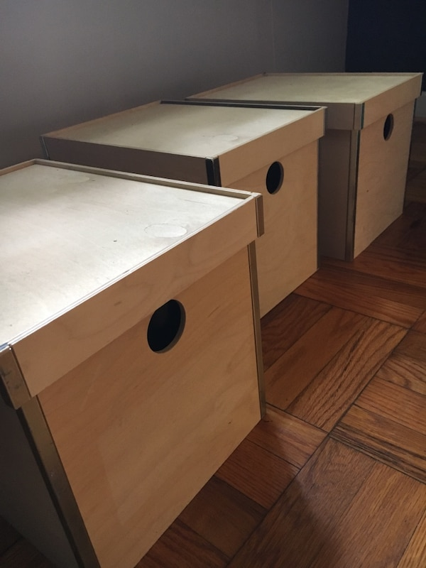 Old Ikea storage boxes great condition