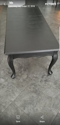 Coffee table Black  Poolesville