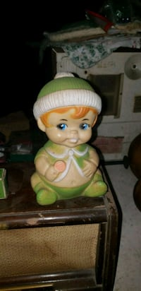 baby doll in green and white dress West Memphis, 72301