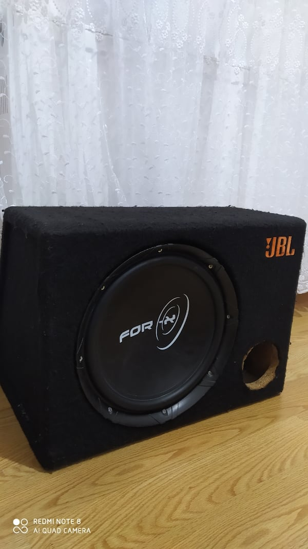 FOR-X KABİNLİ SUBWOOFER 300 RMS! 1