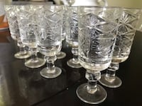 Set of crystal glasses Norcross, 30071