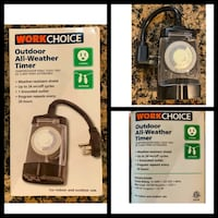 Work Choice Outdoor All-Weather Timer Farmers Branch, 75244