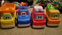 two red and blue ride-on toys San Marcos, 78666