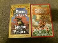 Brian Jacques  Redwall serie books