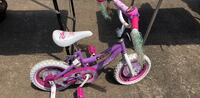 toddler's pink and white bicycle Rossville, 30741