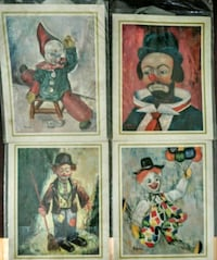 Old time Clown pictures