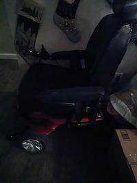 black and red powered wheelchair Las Vegas, 89101