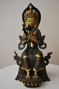 Gilt bronze figures Toronto