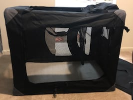 XL Soft Dog Crate, NEVER Used!