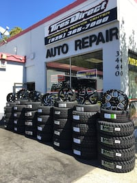 17X9 OFF ROAD WHEELS AND TIRES ON SALE WE CARRY ALL MAJOR BRAND AND SIZE WE FINANCE NO CREDIT NEEDED  Lafayette