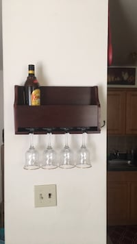 wine holder with glasses Allentown