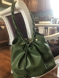 Relic purse green olive