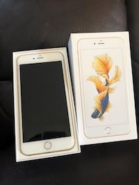 gold iPhone 6s Plus with box Joliet, 60435