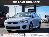 2016 mitsubishi lancer with 66,528km and 100% approved financing Ajax