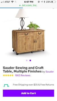 Sewing/craft table  Port Saint Lucie, 34983