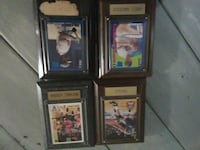 four assorted sports trading cards Madisonville, 37354