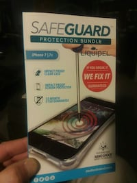SAFEGUARD Protection Bundle for IPhone 7 & 7s Council Bluffs, 51503