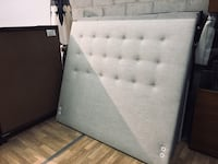 Fabric queen headboard only: $200 米西索加, L5T 1K4