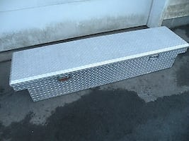 ALUMINUM DIAMOND Plate Truck Bed Tool Box Husky