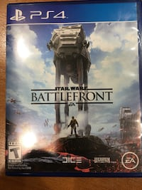 Star Wars Battlefront PS4 game case Herndon, 20171