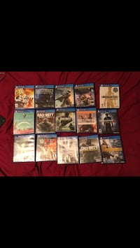 assorted Sony PS4 game cases Angleton, 77515
