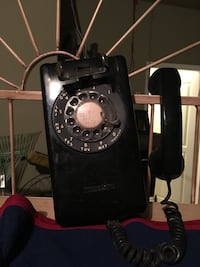Vintage Rotary Wall Phone Fort Worth, 76134