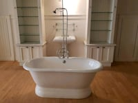 white ceramic sink with faucet Woodbridge, 22193